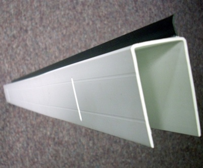 Replacement Storm Door Expander With Sweep White 32